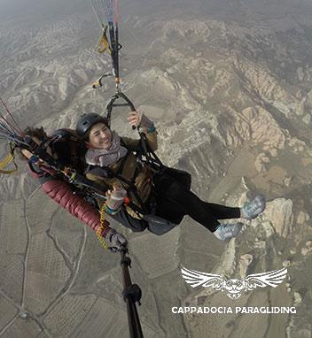 Cappadocia Paragliding - Fly
